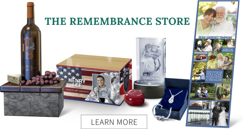 The Remembrance Store, Memorialization and Personalization Options